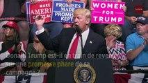 Trump abandonne son projet de mur, mais maintient la pression sur le Mexique