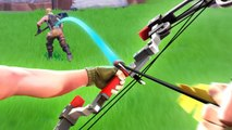 This happens when TFUE pick's up the BOOM BOW | FORTNITE BATTLE ROYALE