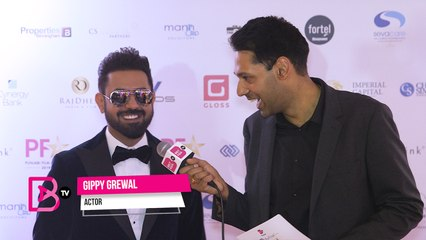 BritAsia TV Punjabi Film Awards 2019 Red Carpet: Gippy Grewal