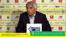 Replay  - Vahid Halilhodzic avant Toulouse FC - FC Nantes