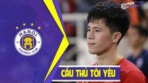 Đình Trọng và những hình ảnh đầu tiên khi tập luyện với bóng ở CLB Hà Nội   HANOI FC