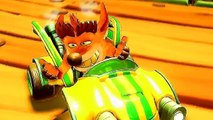 CRASH TEAM RACING Faux Crash Bande annonce