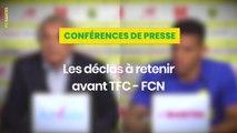 Vahid Halilhodzic et Diego Carlos avant Toulouse / FC Nantes