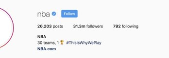 Top 7 NBA Instagram Pages  for Basketball Followers