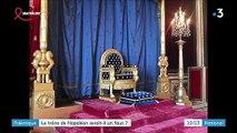 Fontainebleau : le trône impérial de Napoléon mis aux enchères serait-il un faux?