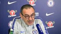 Chelsea coach Sarri on London derby against 'dangerous' West Ham