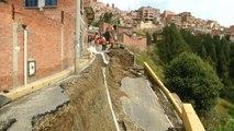 No Comment : en Bolivie, une route s'effondre à cause de pluies diluviennes