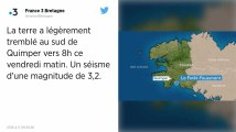 Bretagne. Un séisme de magnitude 3,2 a touché le Finistère ce vendredi matin