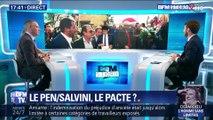 Rencontre entre Marine Le Pen et Matteo Salvini, le pacte ?