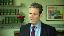 Starmer: May isn't proposing any changes to Brexit deal