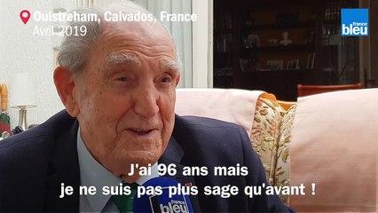 Léon Gautier, vétéran du Débarquement, témoigne sur France Bleu Normandie