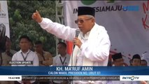 Kiai Ma'ruf: Indonesia akan Maju Jika Paslon 01 Menang