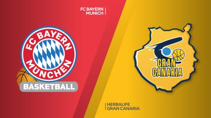 EuroLeague 2018-19 Highlights Regular Season Round 30 video: Bayern 84-77 Gran Canaria