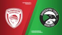 Olympiacos Piraeus - Darussafaka Tekfen Istanbul Highlights | Turkish Airlines EuroLeague RS Round 30