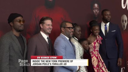 .@UsMovie is breaking records at the box office, and @bevysmith and @EWagmeister have the inside scoop from the premiere! It's only on #PageSixTV!
