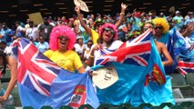 Cheers, beers and colourful costumes: party vibe at Hong Kong Sevens