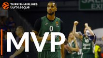 Turkish Airlines EuroLeague Regular Season Round 30 MVP: Brandon Davies, Zalgiris Kaunas