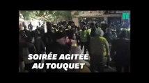 Au Touquet, des gilets jaunes se réunissent devant la villa des Macron