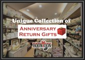 Unique Collection of Anniversary Return Gifts | Wedding Anniversary return Gifts
