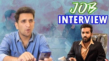 Job Interview  Funny Interaction with boss   Kiraak Hyderabadiz