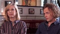 L'interview de Léa Drucker et Alex Lutz - Stupéfiant !