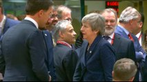 EU leaders lukewarm on British PM's Brexit extension request