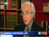O Βασίλης Καραποστόλης καθηγητής Πολιτισμού και Επικοινωνίας του Πανεπιστημίου Αθηνών συζήτησε στην εκπομπή Netweek με την Έλλη Στάη