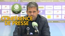 Conférence de presse Grenoble Foot 38 - US Orléans (0-4) : Philippe  HINSCHBERGER (GF38) - Didier OLLE-NICOLLE (USO) - 2018/2019