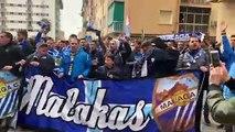 La Afición del Málaga, en la Previa del Granada-Málaga