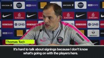 (Subtitled) Tuchel targets 'three or four' summer signings for PSG
