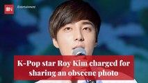 K-Pop Star Is Popped For Obscene Photo