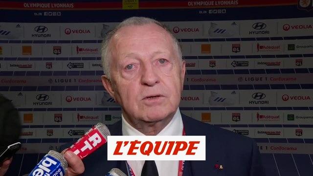 Aulas «J'en veux à nos supporters» - Foot - L1 - Lyon