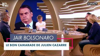 Le bon camarade : Jair Bolsonaro - Bonsoir ! du 06/04 - CANAL+