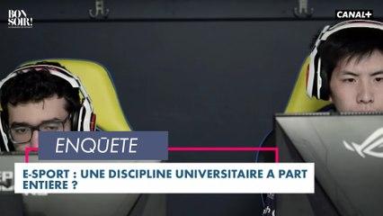 E-sport: une discipline universitaire à part entière ? - Bonsoir ! du 06/04- CANAL+