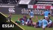 TOP 14 - Essai Shahn ERU (USAP) - Bordeaux-Bègles - Perpignan - J21 - Saison 2018/2019