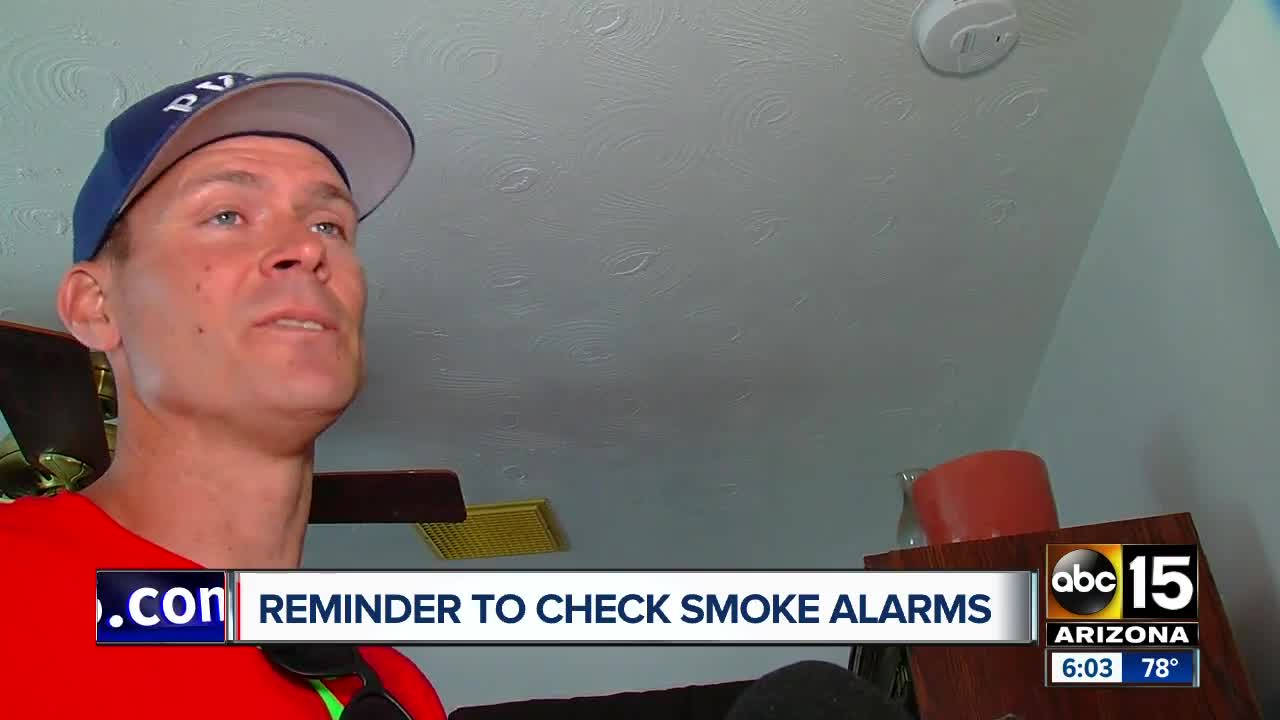 Valley fire departments issue reminder to check smoke alarms