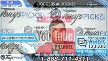 LA Dodgers vs. Colorado Rockies 4/6/2019 Picks Predictions