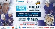 France-Russie, Vendredi 12 avril à Rouen (Prépa CM 2019)