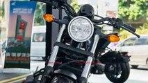 New 2019 Honda Rebel 500 Matte Black Official  Det