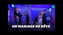 Céline Dion a fait la plus belle surprise à ce couple pendant leur mariage