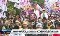Di Tangerang, Jokowi-Ma'ruf Ikuti Pawai Karnaval Bersatu