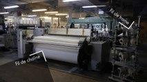La fabrication industrielle d'un tissu chez Coublanc textiles