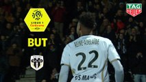 But Jeff REINE ADELAIDE (47ème) / Angers SCO - Stade Rennais FC - (3-3) - (SCO-SRFC) / 2018-19