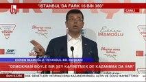 Ekrem İmamoğlu'ndan tarihi açıklamalar!