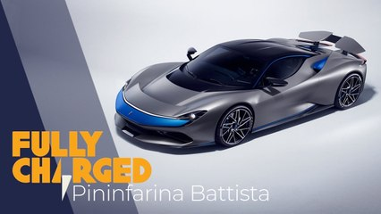 Pininfarina Battista 1900hp EV hypercar - the most powerful Italian car ever_ _ Fully Charged