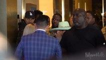 Cardi B Caresses Dan Bilzerian's Face At KAOS Grand Opening In Las Vegas