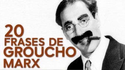 20 Frases de Groucho Marx  | El mejor humorista de la historia