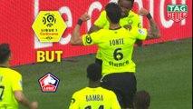 But José FONTE (55ème) / Stade de Reims - LOSC - (1-1) - (REIMS-LOSC) / 2018-19