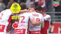 But Rémi OUDIN (78ème) / Stade de Reims - LOSC - (1-1) - (REIMS-LOSC) / 2018-19