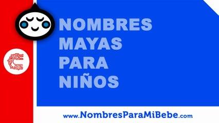 10 nombres mayas para niños - nombres 100% mexicanos - www.nombresparamibebe.com